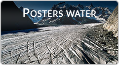 Banner posters water